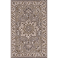 Jaipur Orleans Rug From Poeme Collection PM131 - Gray/Ivory