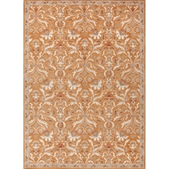 Jaipur Corsica Rug From Poeme Collection PM33 - Orange/Ivory
