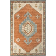 Jaipur Saratoga Rug From Preston Collection PRS01 - Red/Blue