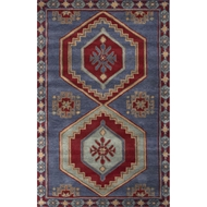 Jaipur Jameson Rug From Preston Collection PRS03 - Blue/Red
