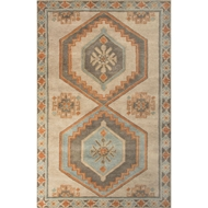 Jaipur Jameson Rug From Preston Collection PRS05 - Taupe/Orange