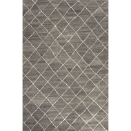 Jaipur Gem Rug From Riad Collection RIA01 - Gray/Ivory