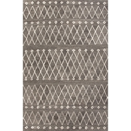 Jaipur Sagar Rug From Riad Collection RIA06 - Gray/Ivory