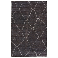 Jaipur Carmine Rug From Satellite Collection SAT05 - Black/White