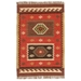 Jaipur Amman Rug From Bedouin Collection - 4x6 Rectangle - Zinfandel/Wood Thrush BD04