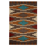 Jaipur Alder Rug From Cabin Collection CBN05 - Brown/Gray