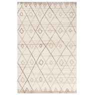 Jaipur Beldi Rug From Bristol by Rug Republic Collection BRI23 - Ivory/Natural