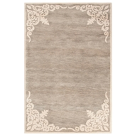 Jaipur Belladonna Rug From Timeless by Jennifer Adams JAT22 - Gray/Ivory