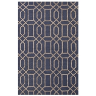 Jaipur Bellevue Rug From City Collection CT52 - Blue/Taupe