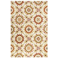 Jaipur Benson Rug From Blossom Collection BSM14 - Ivory/Orange