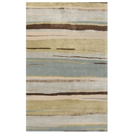 Jaipur Bernini Rug From Baroque Collection BQ29 - Green/Blue