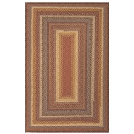 Jaipur Biscotti Rug From Cotton Braided Rugs Collection CBR01 - Red/Yellow