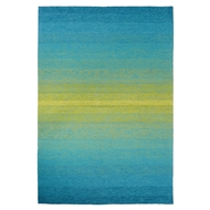 Jaipur Blaze Rug From Catalina Collection CAT27 - Blue/Green