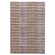 Jaipur Block Out Rug From Zane Collection ZAN06 - pink/Red