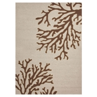 Jaipur Bough Out Rug From Grant I-O Collection GD02 - Ivory/Brown