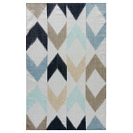 Jaipur Caracal Rug from Desert Collection DES09 - Blue/Gray
