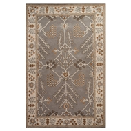Jaipur Chambery Rug From Poeme Collection PM144 - Gray/Ivory