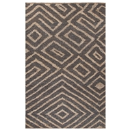 Jaipur Charon Rug From Luxor By Nikki Chu Collection LNK01 - Gray/Taupe