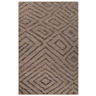 Jaipur Charon Rug From Luxor By Nikki Chu Collection LNK03 - Gray/Black