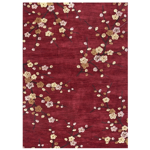 Jaipur Cherry Blossom Rug From Brio Collection Br17 Red Yellow