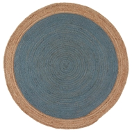 Jaipur Chipowa Rug from Spiral Collection SPI03 - Blue/Neutral