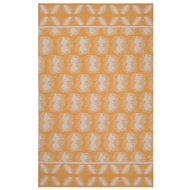 Jaipur Clouds Rug From Traditions Made Modern Cotton Flat Weave Collection MCF07 - Yellow/Ivory