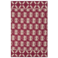 Jaipur Clouds Rug From Traditions Made Modern Cotton Flat Weave Collection MCF06 - Pink/Ivory