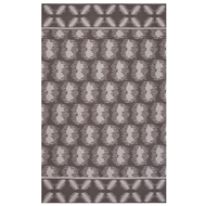 Jaipur Clouds Rug from Traditions Made Modern Cotton Flat Weave Collection - Steel Gray