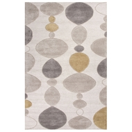Jaipur Creekstone Rug From Blue Collection BL102 - Ivory/Gray