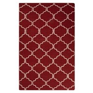 Jaipur Delphine Rug from Maroc Collection - Brick Red