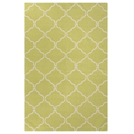 Jaipur Delphine Rug from Maroc Collection - Green Banana