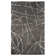 Jaipur Denali Rug From Hollis Collection HOL03 - Gray/Ivory
