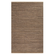 Jaipur Diagonal Weave Rug From Himalaya Collection HM16 - Taupe/Black