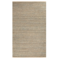 Jaipur Diagonal Weave Rug From Himalaya Collection HM17 - Taupe/Blue