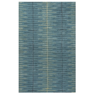 Jaipur Dialed In Rug From Blue Collection BL144 - Blue