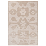 Jaipur Elephant Love Rug From Playful By Petit Collage Collection PBP04 - Gray