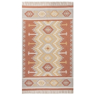 Jaipur Emmett Rug From Desert Collection DES07 - Orange/Yellow