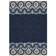 Jaipur Essential Rug From Brio Collection BR60 - Blue/Ivory