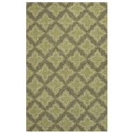 Jaipur Etoile Rug From Catalina Collection CAT21 - Green/Taupe
