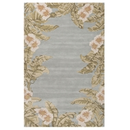 Jaipur Fairview Rug From Coastal Seaside Collection COS35 - Gray/Green
