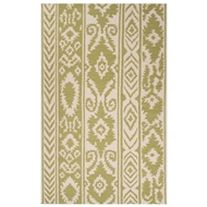 Jaipur Farid Rug From Urban Bungalow Collection UB24 - Green/Ivory