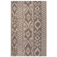 Jaipur Farid Rug From Urban Bungalow Collection UB34 - Gray/Ivory