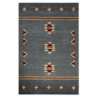 Jaipur Fir Rug From Cabin Collection CBN01 - Blue/Tan