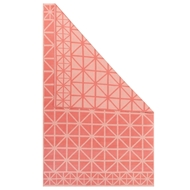 Jaipur Framework Rug from Graphic By Petit Collage Collection - Deep Sea Coral