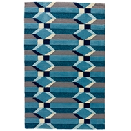 Jaipur Hamilton Rug From Catalina Collection CAT31 - Gray/Blue