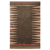 Jaipur Hawthorn Rug From Etho By Nikki Chu Collection ENK07 - Gray/Brown