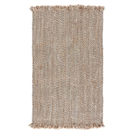 Jaipur Hoopes Rug From Naturals Tobago Collection NAT13 - Brown/Natural