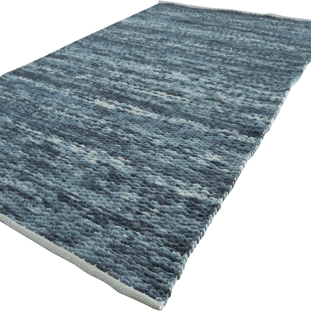 ... Jaipur Iroquois Rug From Apache Collection APH01   Floorshot Blue/White  ...