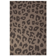 Jaipur Jaguar Rug From National Geographic Home Collection NGF01 - Dark Gray