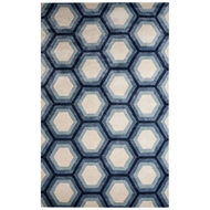 Jaipur Jay Rug From Blue Collection BL149 - Ivory/Blue